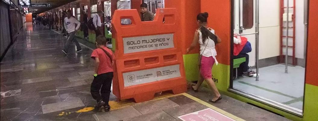 Trabajan mil 420 niños en el Metro de la CDMX