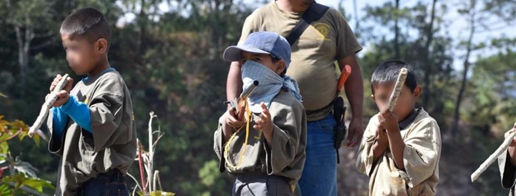 UNICEF condena reclutamiento y explotación de niños en Guerrero