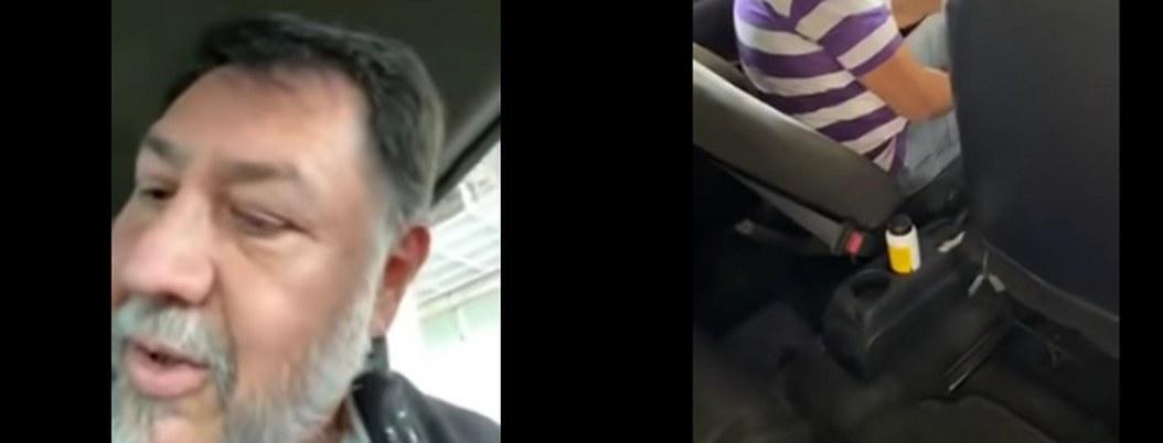 """¡Trabaja cabrón!, dijo Noroña a taxista que le quería """"robar"""""""