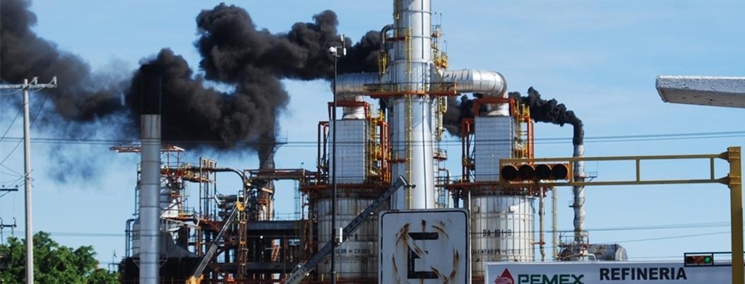 Pemex aporta el 70% de gases con efecto invernadero de México