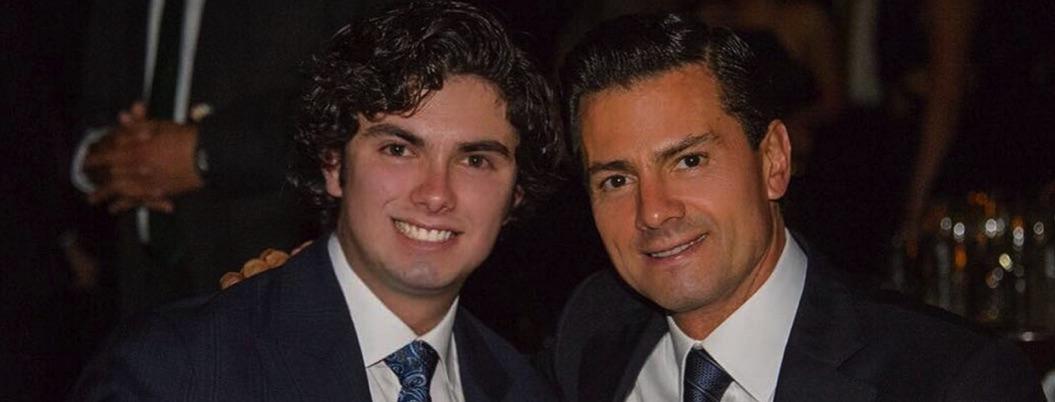 Peña reaparece en redes para felicitar a su hijo por su cumpleaños