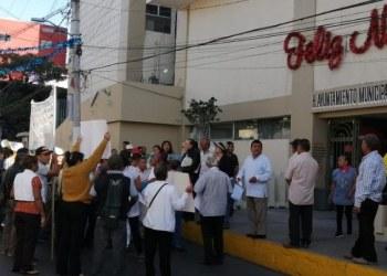 Protestan contra alcalde de Chilpancingo por alza de impuestos 5