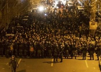 Protestan en Irán en repudió por derribo de avión ucraniano 3