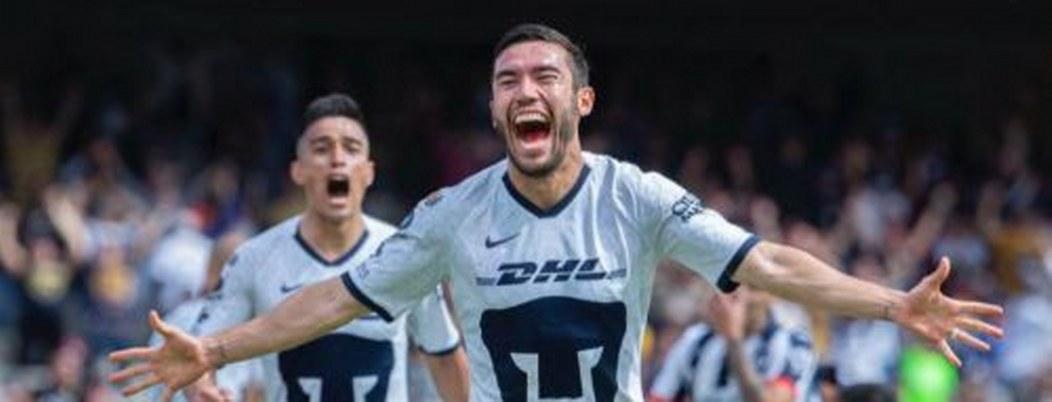 Pumas se corona líder de la Liga MX con la derrota a Rayados