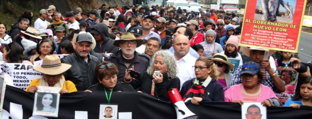 Caminata por la paz pide desmilitarizar el país