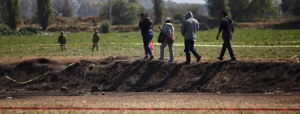 Tlahuelilpan aún busca a los responsable de la tragedia