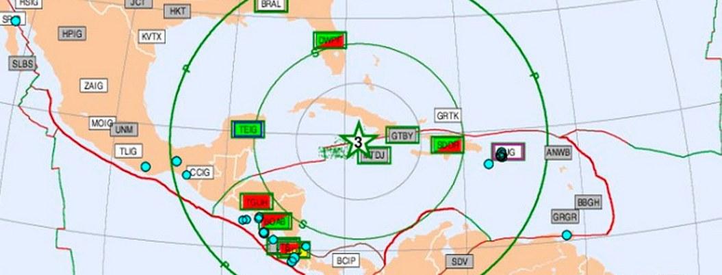 Alerta de tsunami por sismo en Jamaica incluye a México