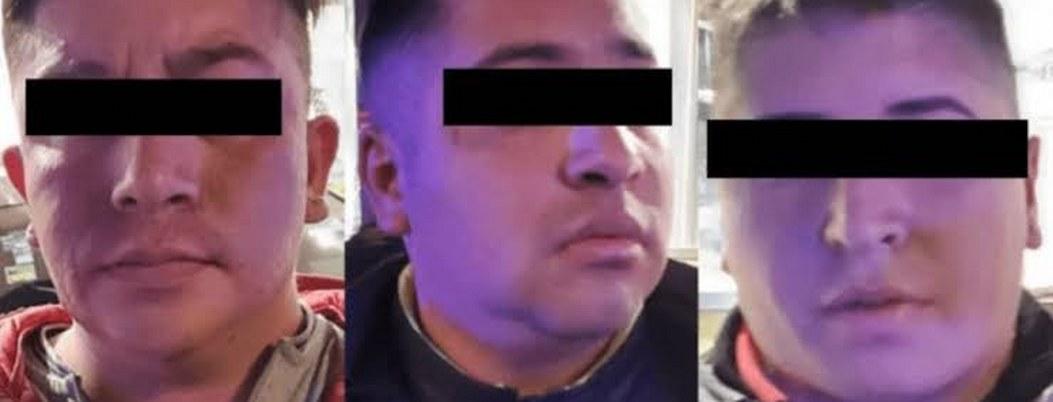Capturan a 3 asaltantes de automovilistas en Periférico