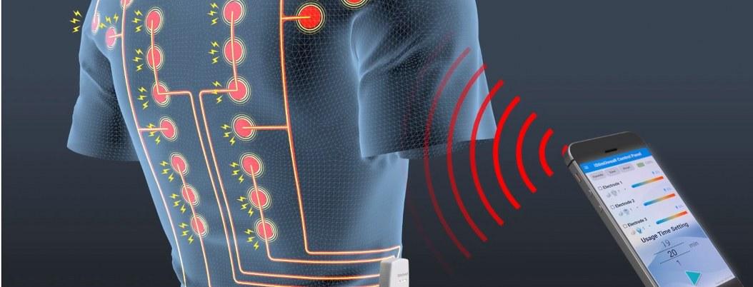 Camiseta inteligente promete aliviar dolores de espalda