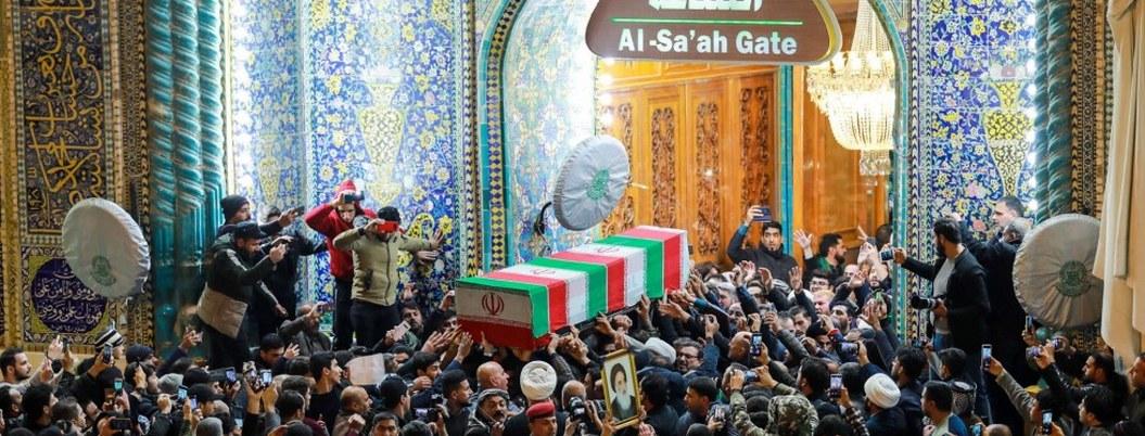 Restos del general Soleimani llegan a Irán para funeral