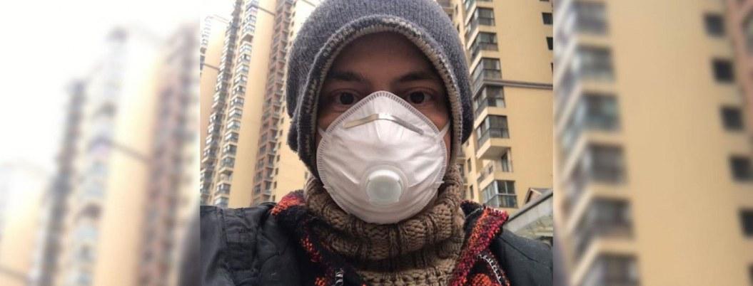 Mexicano que vivía en Wuhan, en camino y salvo