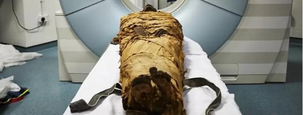 Momia egipcia habla por primera vez luego de 3 mil años