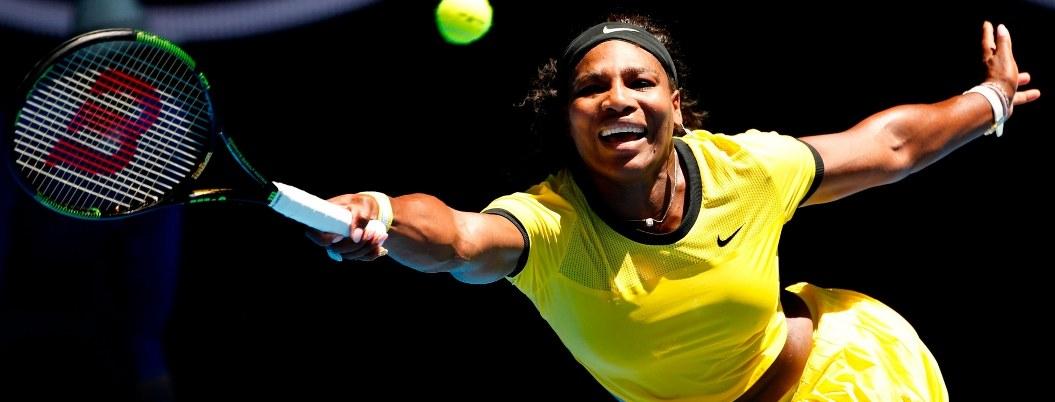 Williams y Federer inician con triunfo en Abierto de Australia