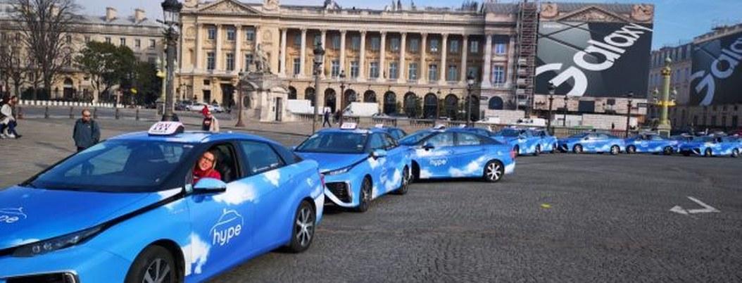 Surge primera y mayor flota de taxis de hidrógeno del mundo