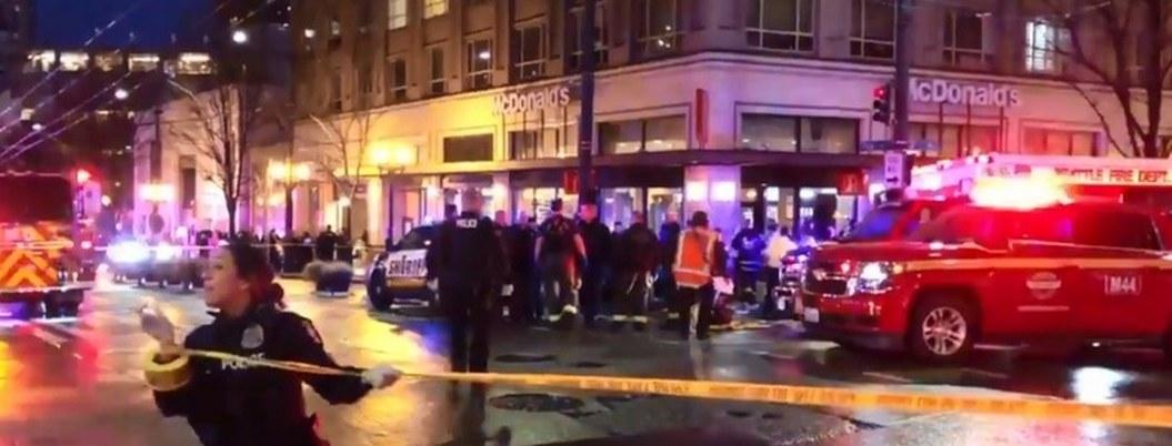 Tiroteo en el centro de Seatle deja un muerto y siete heridos