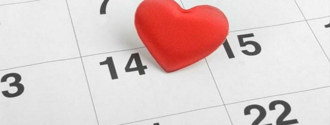 El 14 de febrero, día de los que pierden la cabeza por amor