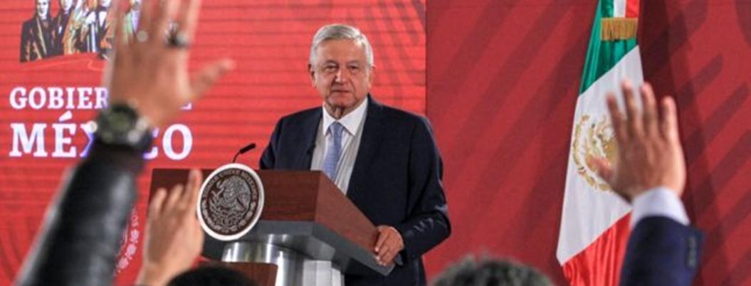 López Obrador no cuestiona aval del INE a México Libre