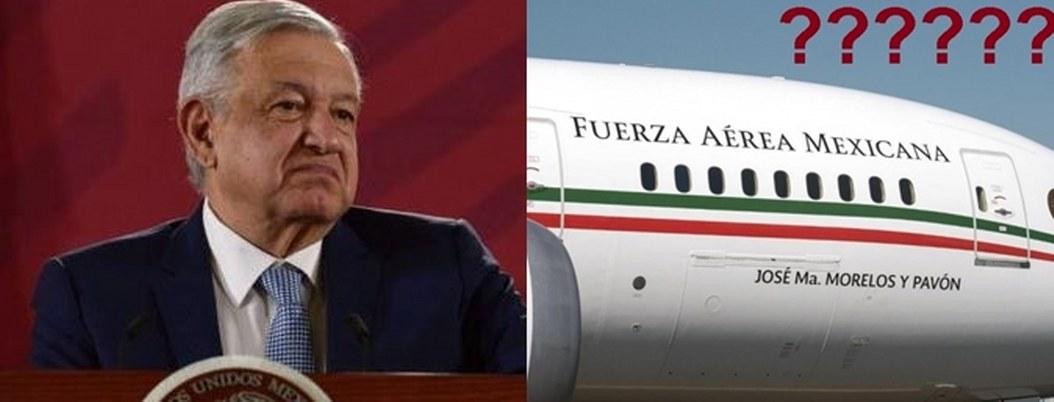 El avión presidencial se rifa pero no se rifa: AMLO