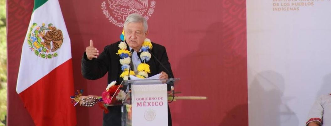 """""""Me levanto muy temprano para darle paz a México"""", señala Obrador"""