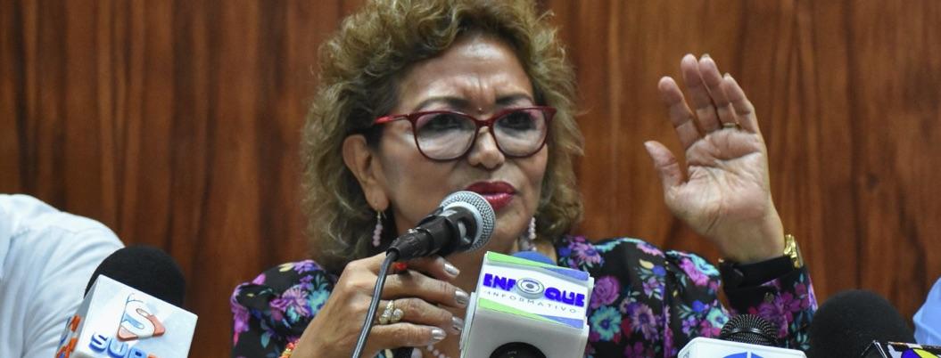Paro de mujeres es promovido por la derecha: Adela Román
