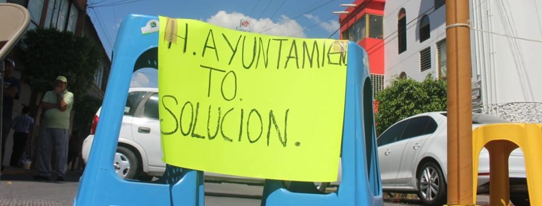Ciudadanos protestan contra gobierno de Chilpancingo