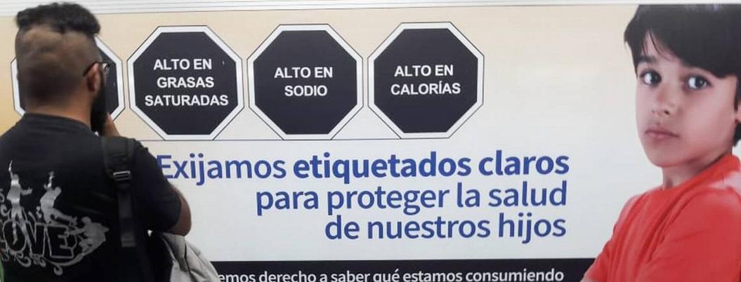 Unicef reconoce etiquetado frontal de alimentos en México