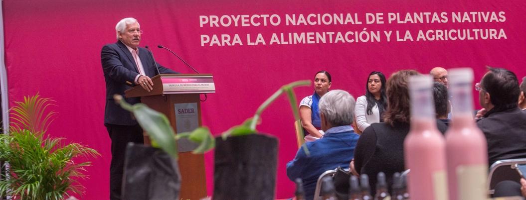Sader pone en marcha Proyecto Nacional de Plantas Nativas