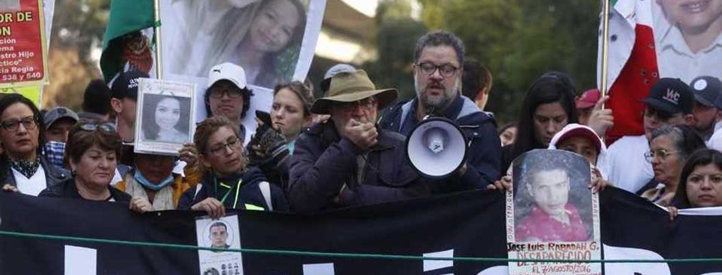 Colectivos critican a AMLO por no recibir a Javier Sicilia