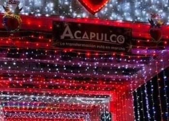 """Acapulco enfrenta violencia con """"túnel del amor"""""""
