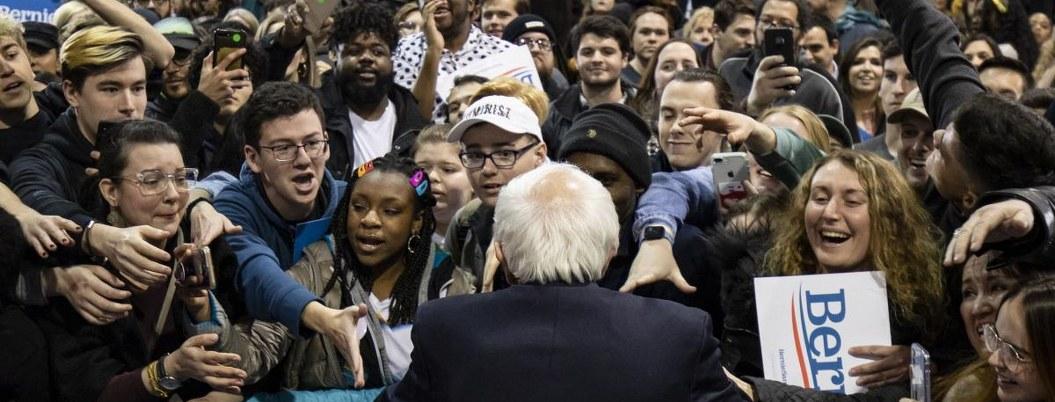 Bernie Sanders, el favorito de latinos y jóvenes en California