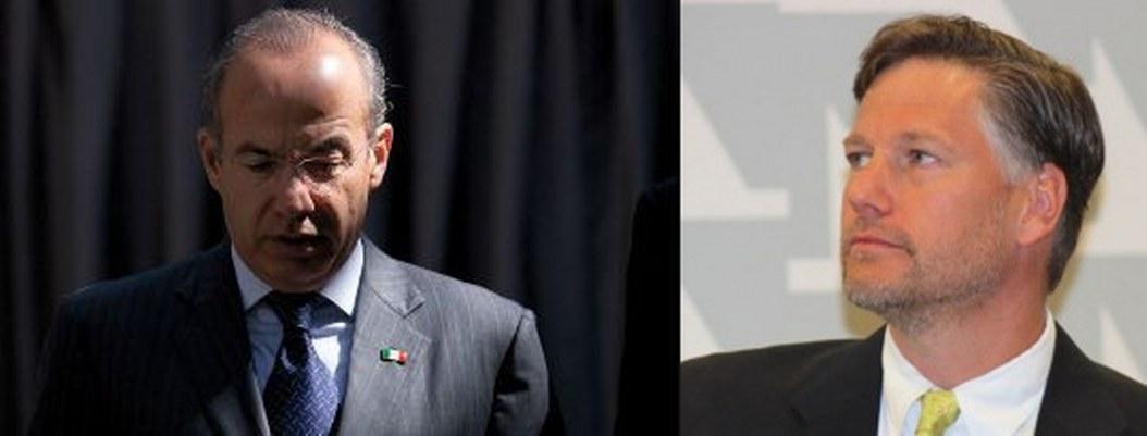 Embajador de EU aplica bofetón político a Calderón por metiche