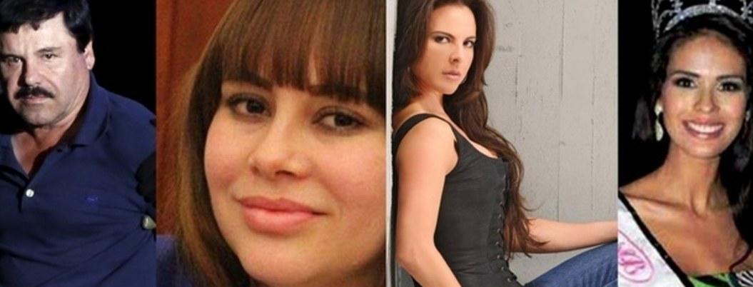 Lista de mujeres con las que el Chapo se relacionó; infidelidades