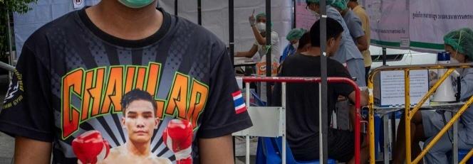Pelea de kickboxing propagó coronavirus en Tailandia