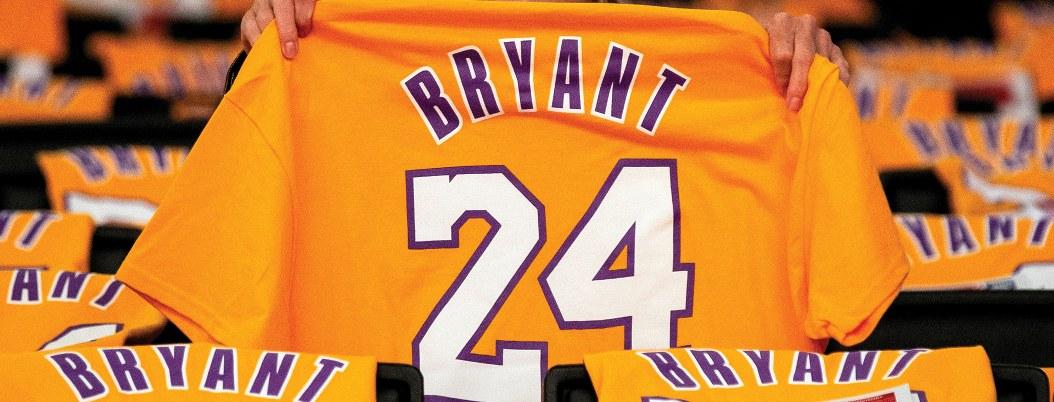 Substarán diversos articulos de Kobe Bryant, leyenda de la NBA