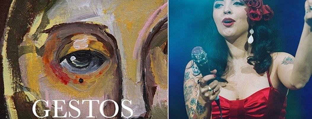 Mon Laferte debuta como pintora en exposición en México