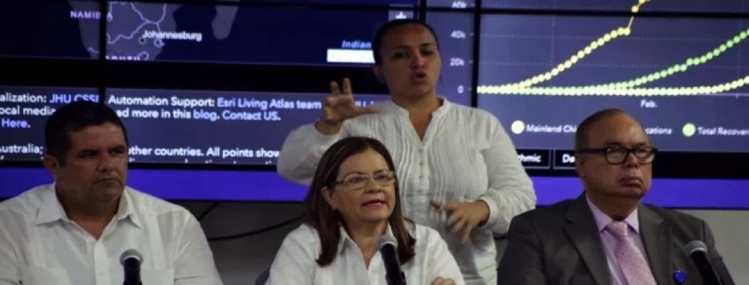 Panamá registra primer fallecimiento por coronavirus