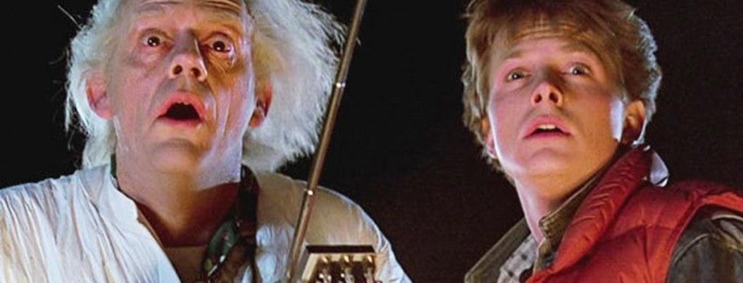 """Marty y el Doc se reencuentran a 35 años de """"Volver al futuro"""""""