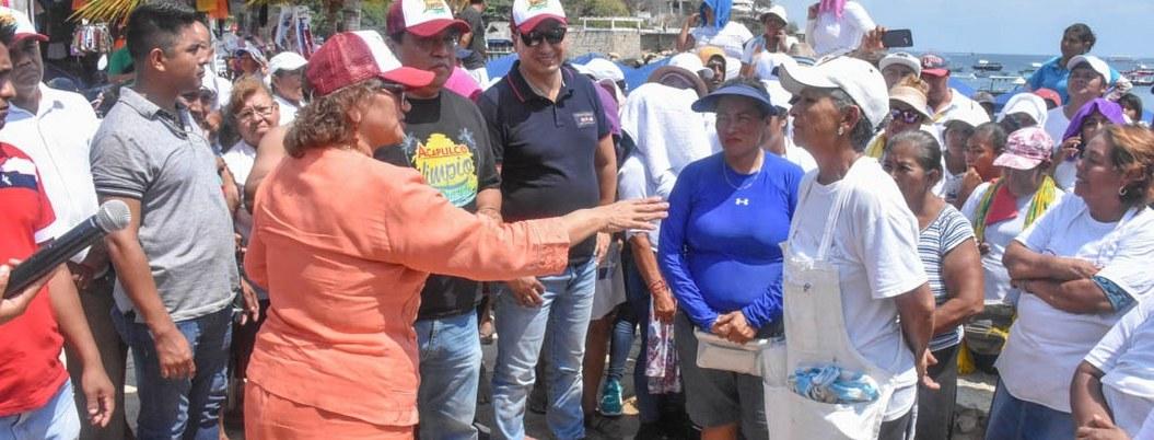 Vendedores de Acapulco recibirán apoyo por contingencia sanitaria