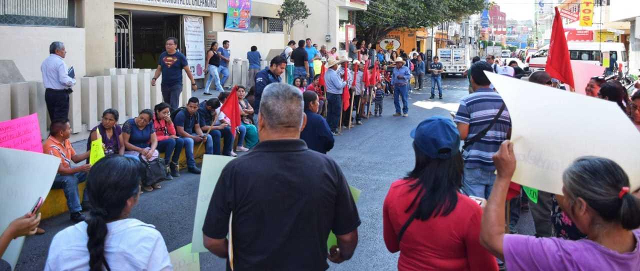 Antorchistas exigen a Gaspar concluir obras en Chilpancingo