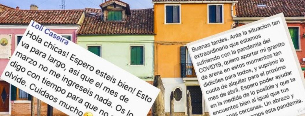 Casero perdona renta a inquilina por Covid-19; historia se viraliza