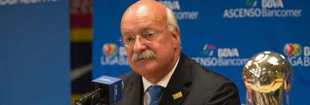 Enrique Bonilla, presidente de Liga MX, da positivo a Coronavirus