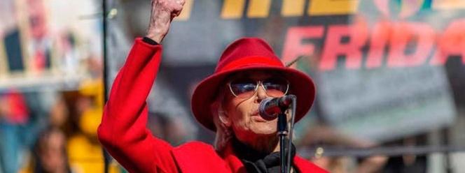 Jane Fonda continuará en línea su lucha contra cambio climático 1