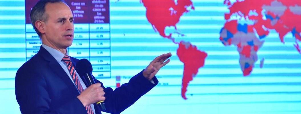 Gobierno Federal suspenderá actividades desde mañana: López-Gatell