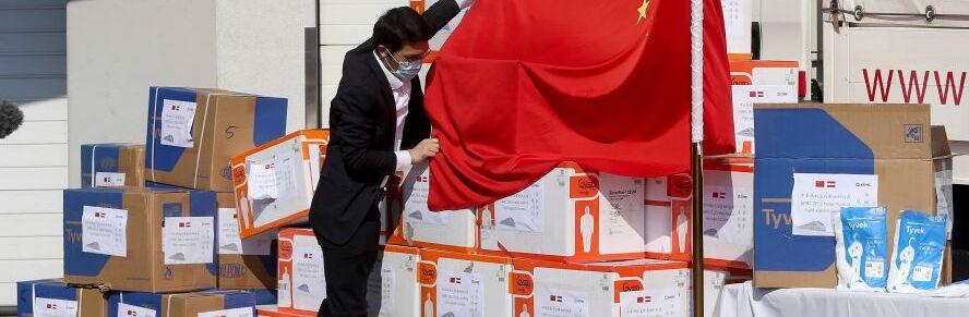 China consiguió a México ventiladores para pacientes con Covid-19