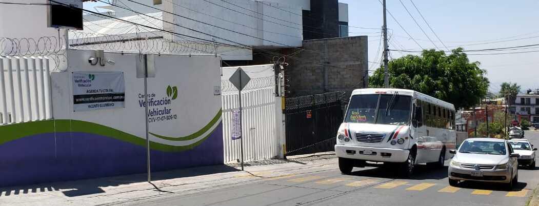 Suspenden verificación vehicular en Morelos por Covid-19