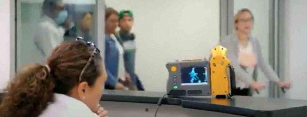 Cámaras termográficas en AICM detectan a pasajeros con coronavirus