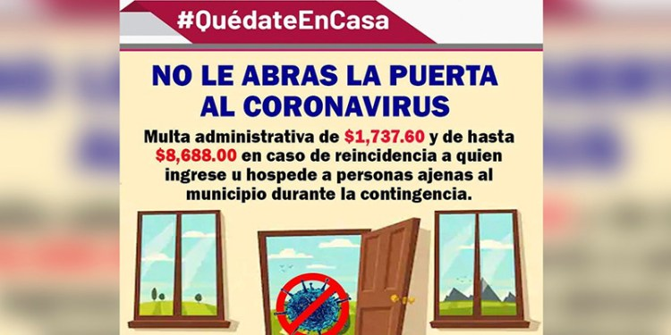 Multarán a quien hospede a foráneos en Tecolutla, Veracruz 1