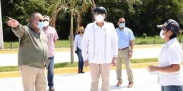 Gobernador de Tabasco realiza segunda gira, tras superar el Covid 6