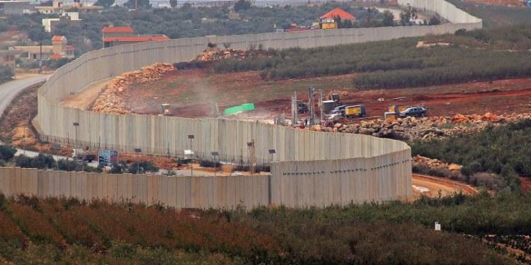 frontera Israel