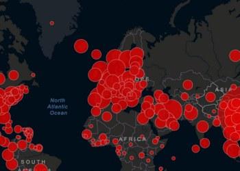 Casos de Covid-19 superan los 20 millones en todo el mundo 2